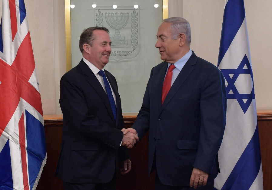 Israel is the first country to finalize post-Brexit trade deal with UK