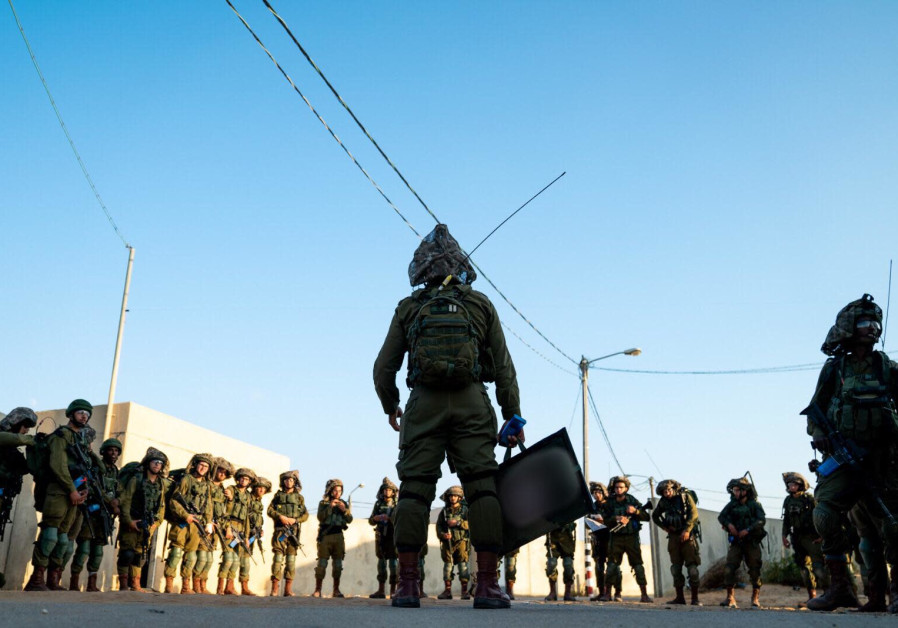 IDF Kfir Brigade training exercise