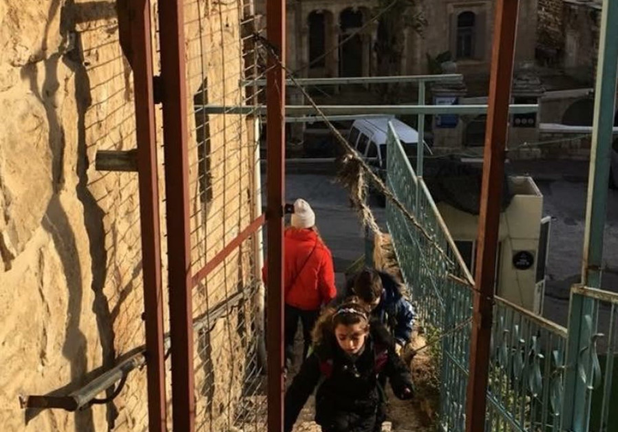 Cordoba stairwell in Hebron