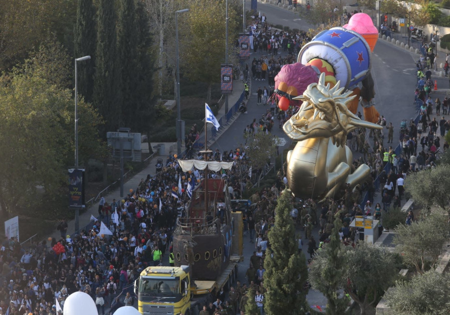 Jerusalem's Thanksgiving Macy's Parade