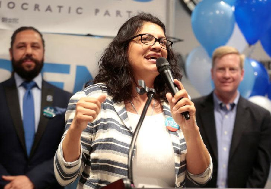 Tlaib, AOC meet pro-Palestinian activists on Capitol Hill