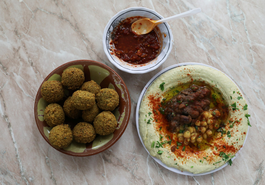 Hummus and Falafel, Israel's favorite chickpea-based dishes