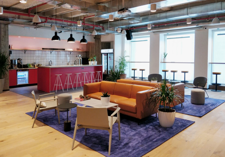 WeWork's office in Jerusalem