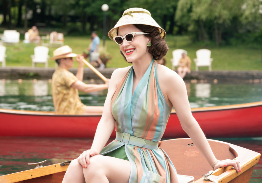 MIDGE MAISEL (Rachel Brosnahan) dazzles in the Catskills in season 2 of 'The Marvelous Mrs. Maisel'