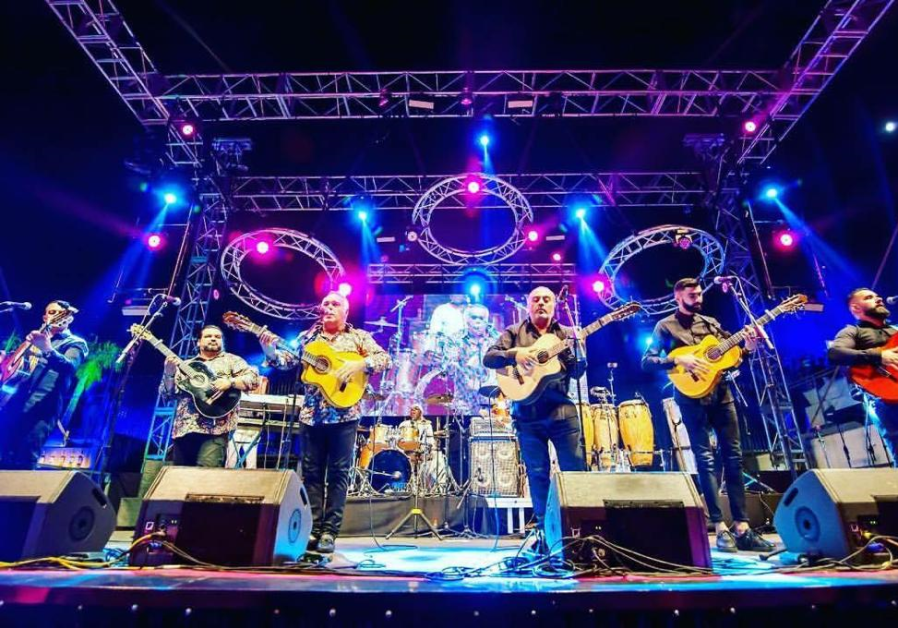 """The Gipsy Kings, of """"Bamboleo"""" fame, perform in concert."""
