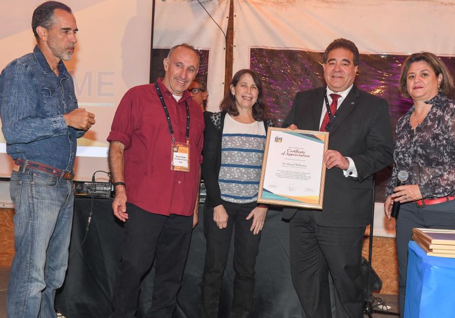 JNF-USA honored for renewable energy efforts