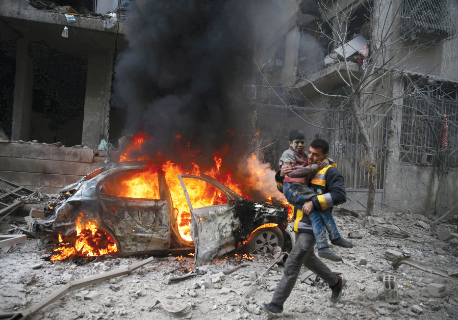 NO ONE did anything to stop the carnage in Syria.