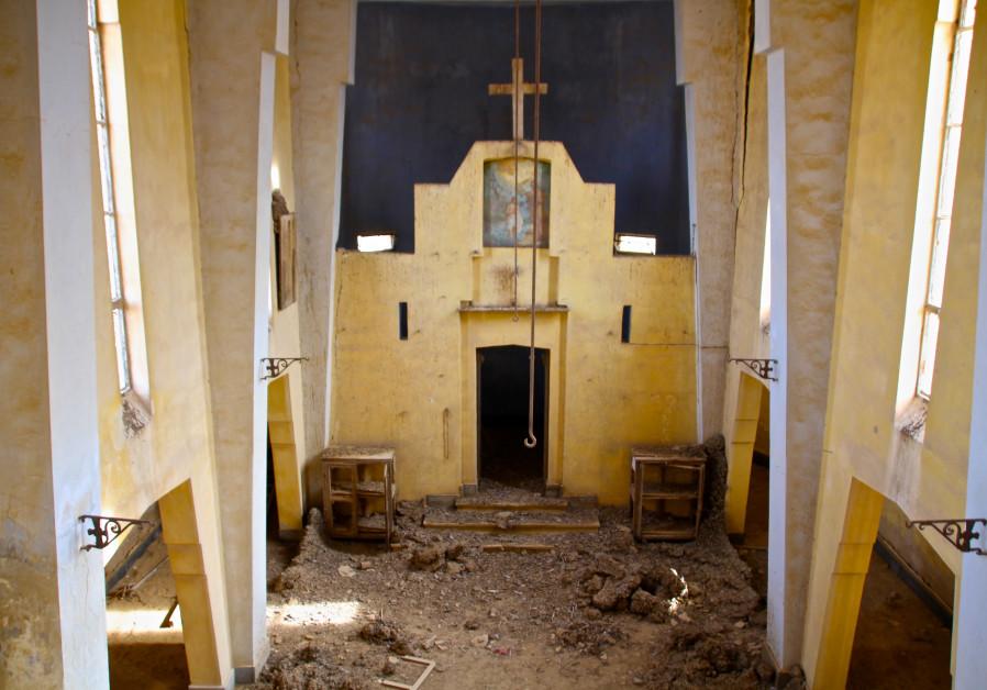Israel clears landmines from seven monasteries by Jesus' Baptismal site