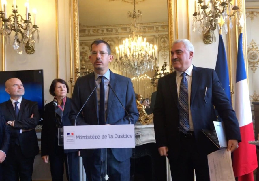 B'Tselem CEO Hagai El-Ad in his acceptance speech for the Human Rights Awards of the French Republi