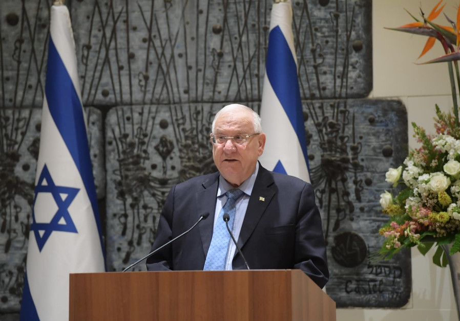 President Rivlin meeting Israeli heads of diplomatic missions, 10 December 2018.