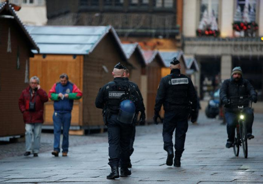 Strasbourg terror suspect shouted 'Allahu Akbar' as he shot and stabbed victims
