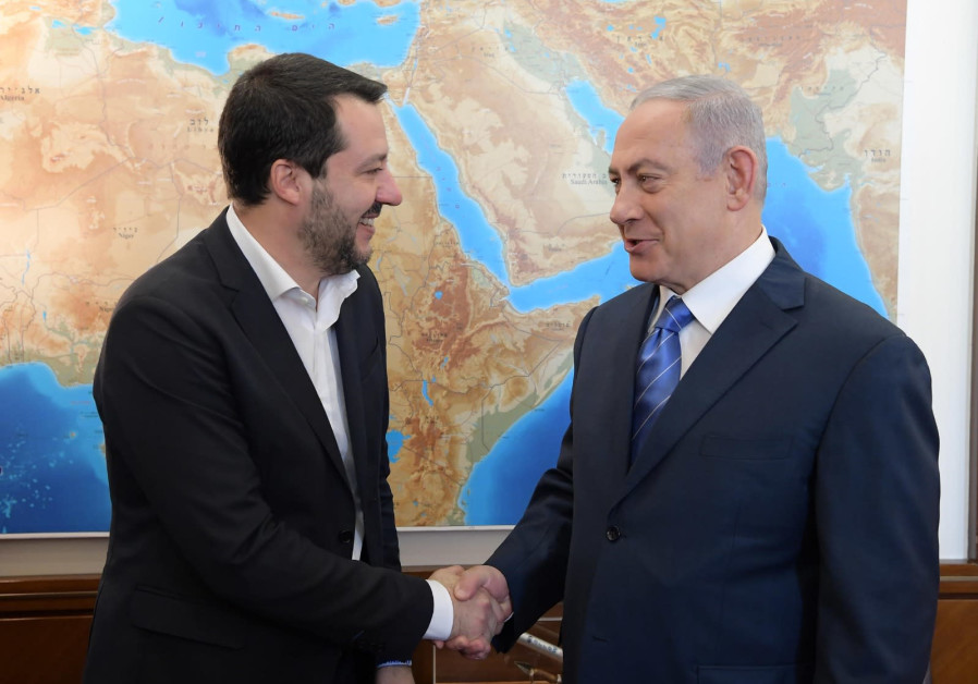 Italian Jewish leader: Jewish community must work with Salvini, nationalists