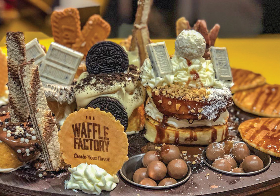 Wondrous Treats at Waffle Factory