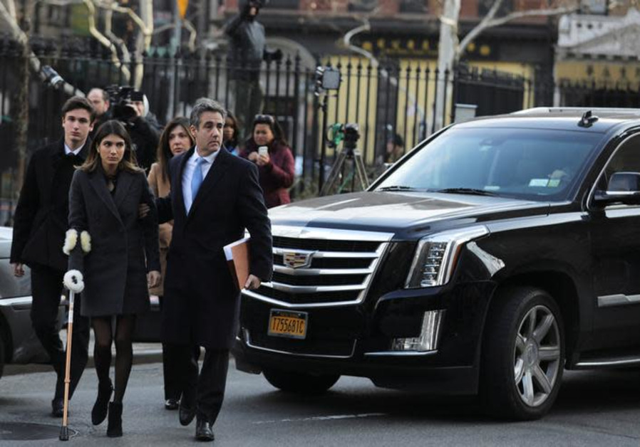 Michael Cohen, U.S. President Donald Trump's former attorney, arrives for his sentencing