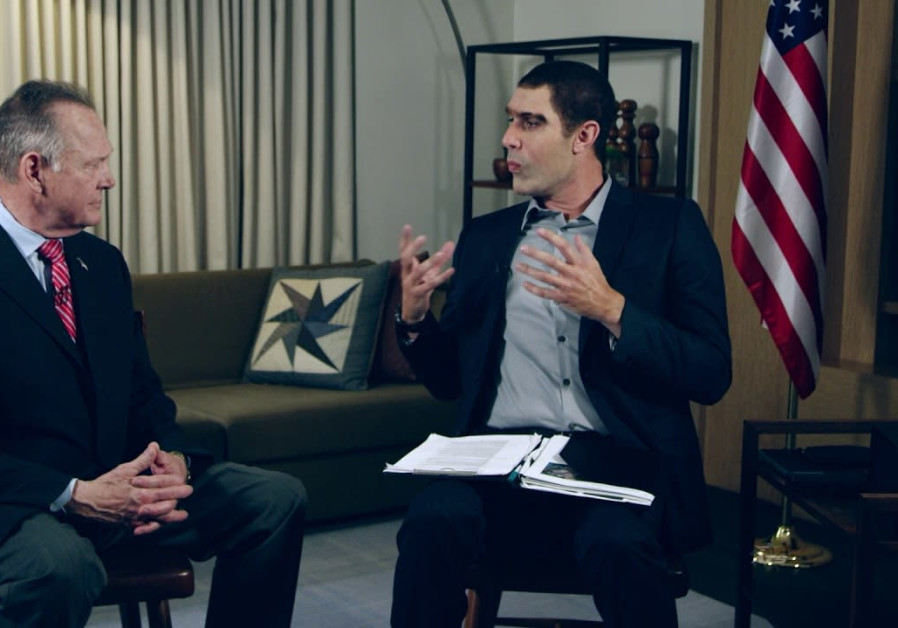 SACHA BARON COHEN and Roy Moore on 'Who Is America?'