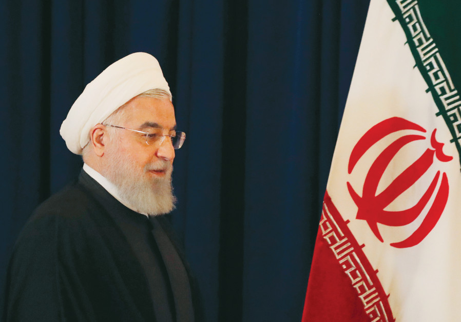 Rouhani stresses Iran's military strength