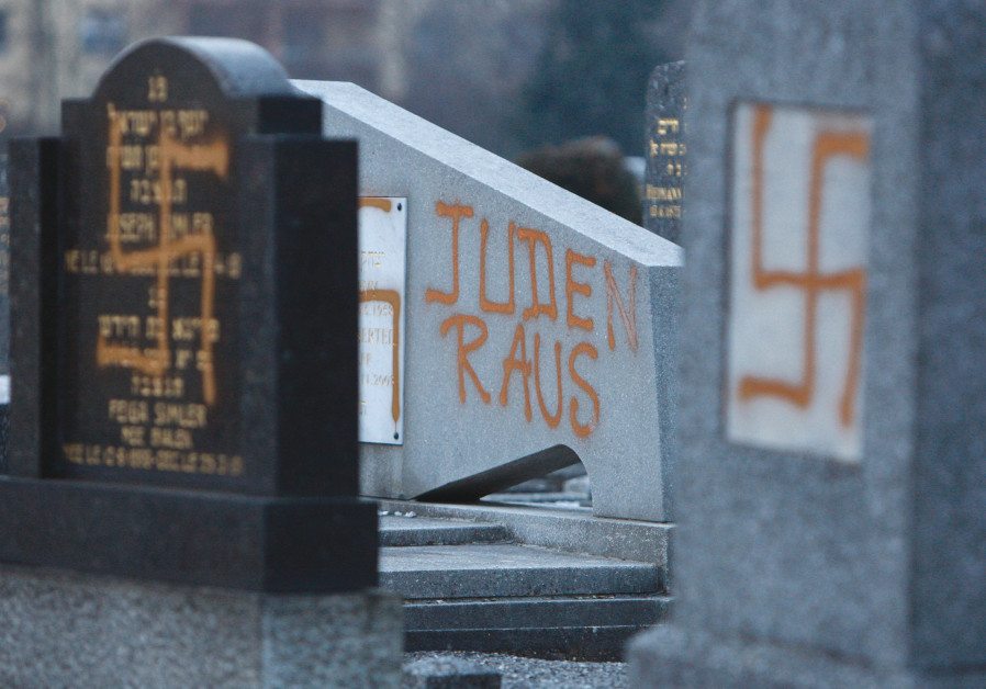 EU survey finds majority of Europeans see no rise in antisemitism