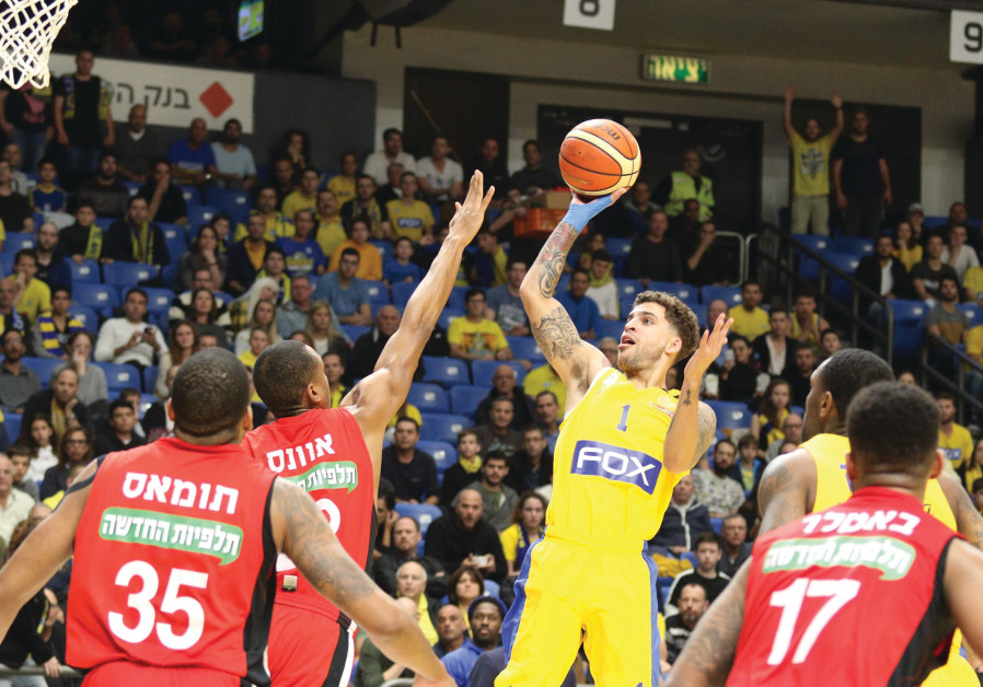 Maccabi Tel Aviv tops Jerusalem to take 1st place 365e02322