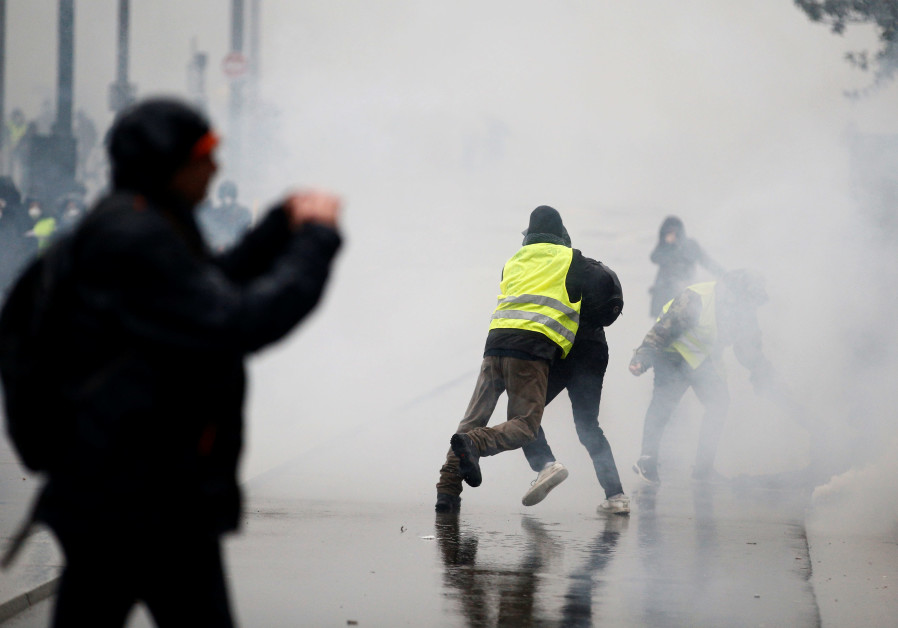 Yellow Vest Leader: I Would Participate in an Anti-Zionist Protest