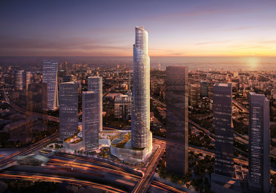 Israeli developer announces plans to build 'tallest building