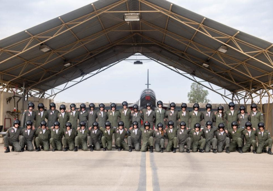 The IDf's first Ethiopian pilot pictured with his unit