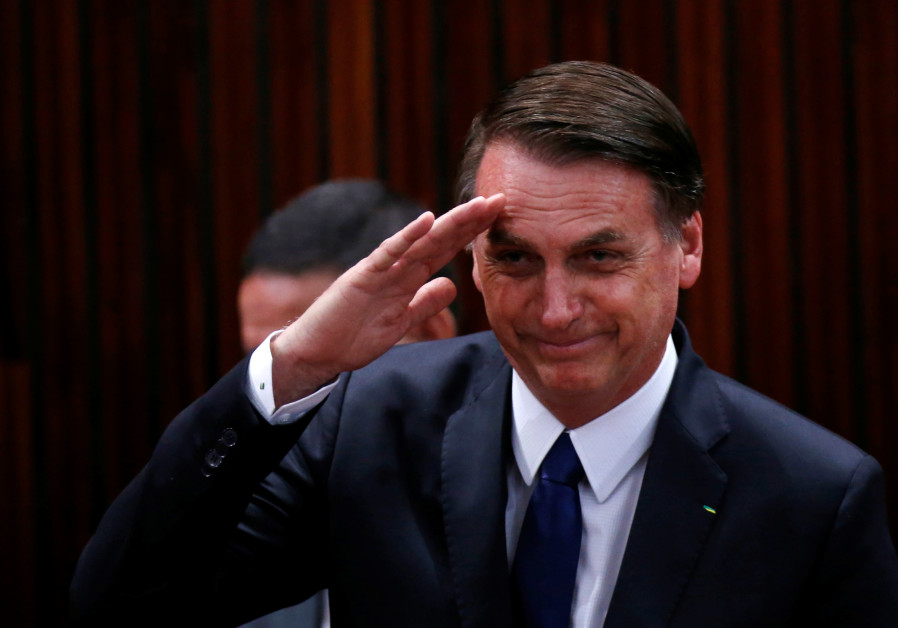 Brazil's Bolsonaro: Looking forward to Netanyahu's visit
