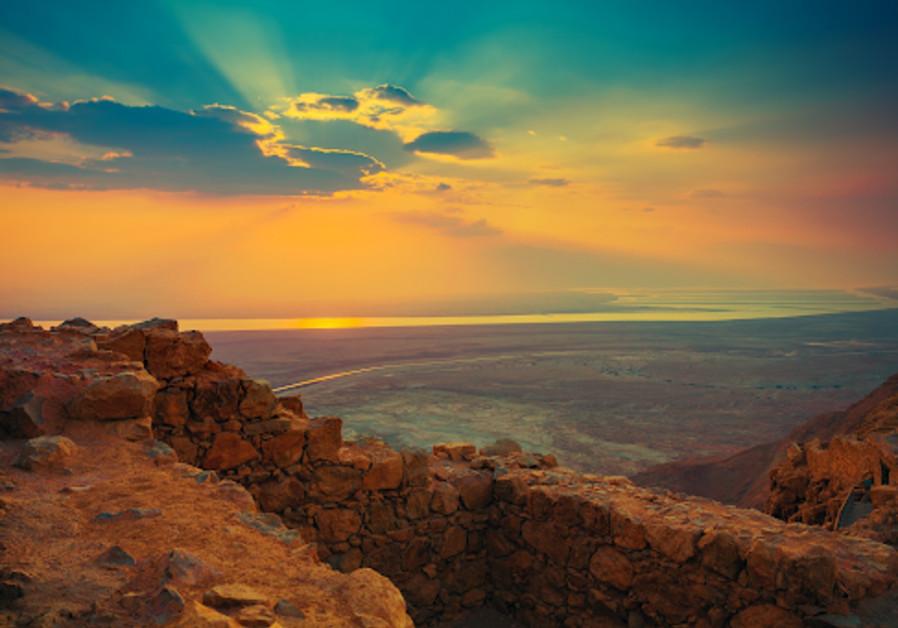 Sunrise in the Negev