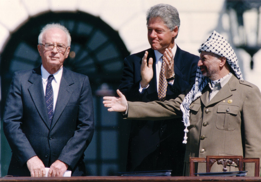"'THEIR LEGACY, however, is not only a ""peace process"" that failed, the Oslo Accords."