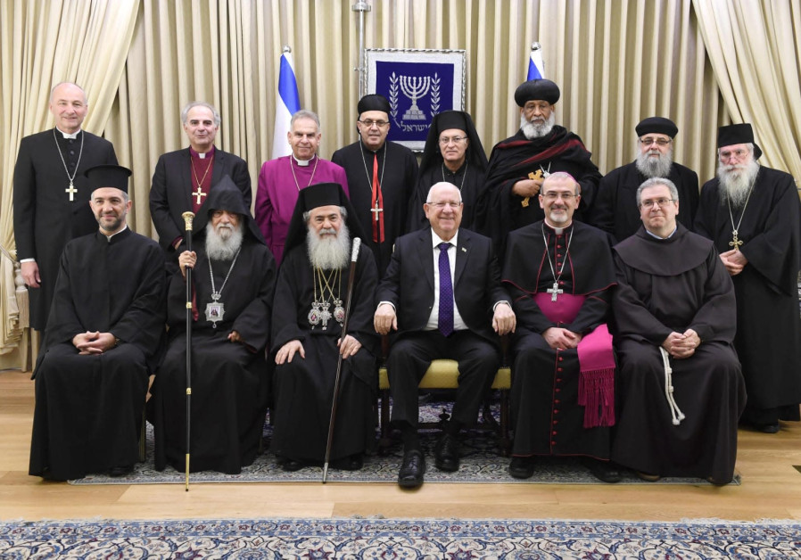 Rivlin pledges Israel will not infringe on church property
