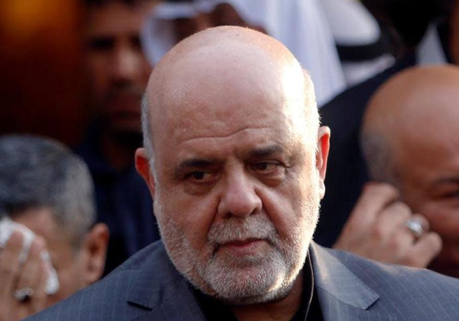 Iran's ambassador to Iraq, Erg Masjedi, speaks during a news conference in Basra, Iraq September 11,