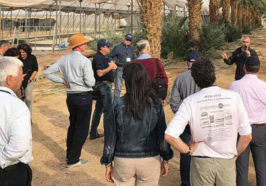 JNF is building a land flowing with water... and milk and honey