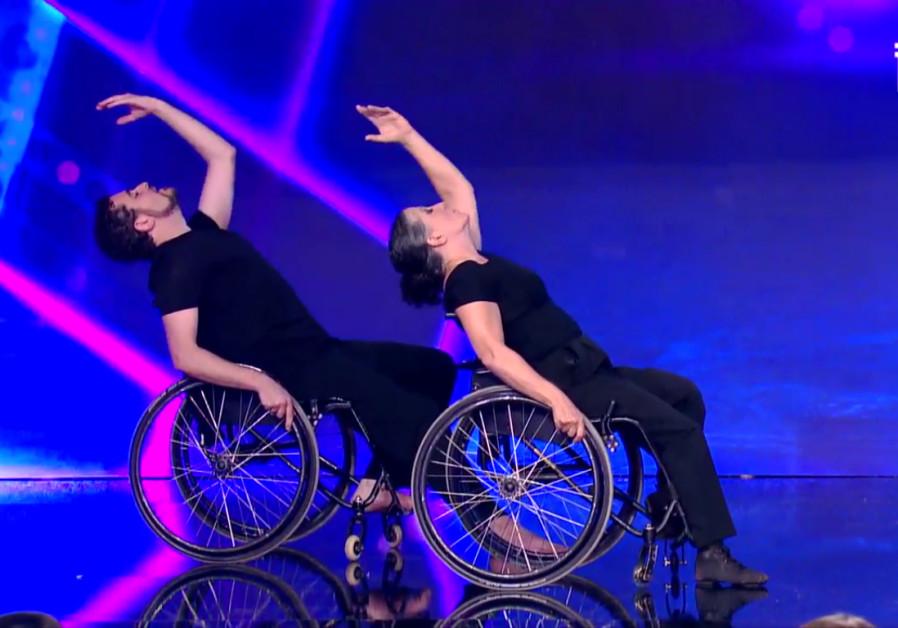 Oren and Zahava dance on 'Israel's Got Talent.'