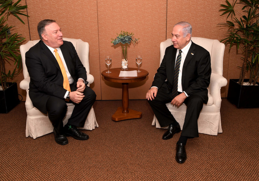 Pompeo meets Netanyahu: Our obligations to Israel remain unchanged