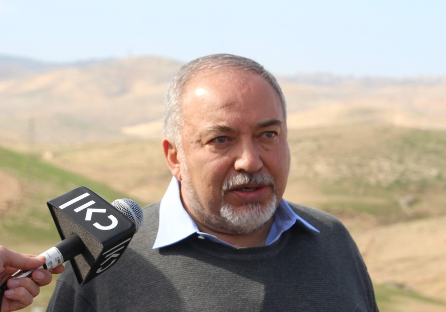 Liberman: PM is fake Right, won't raze Khan al-Ahmar