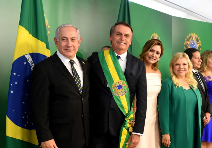 Brazilian President Jair Bolsonaro walks back embassy move promise