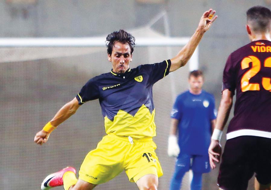 ONE OF the biggest stars in Israeli soccer history – Yossi Benayoun.