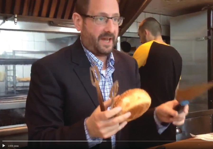 A VIDEO posted on Twitter by former MK Dov Lipman, an immigrant from the US, showing him at a restau