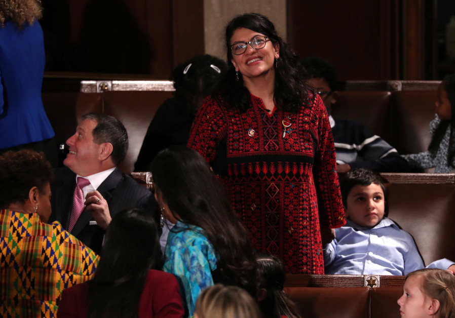 Freshman US Rep. Rashida Tlaib Reveals Apparent Anti-Semitism, Hatred of Israel