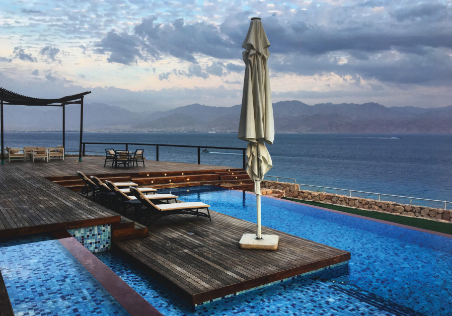 ORCHID EILAT'S Royal Villa offers guests a one-of-a-kind experience with a view of the red Jordanian