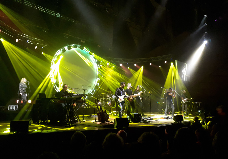 THE COMBINED forces of the UK Pink Floyd Experience and Echoes onstage Saturday night in Tel Aviv.