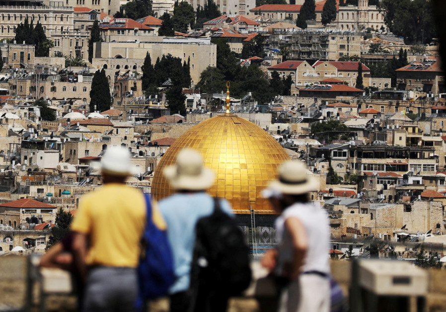 More than four million tourists visited Israel in 2018, up 14% from 2017