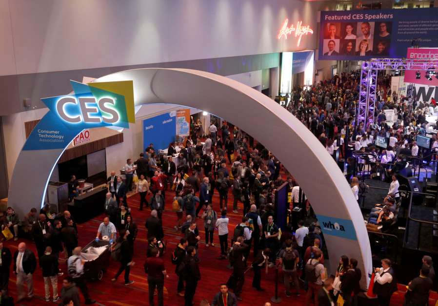 The lobby of the Las Vegas Convention Center is shown prior to the opening of the trade show floor d