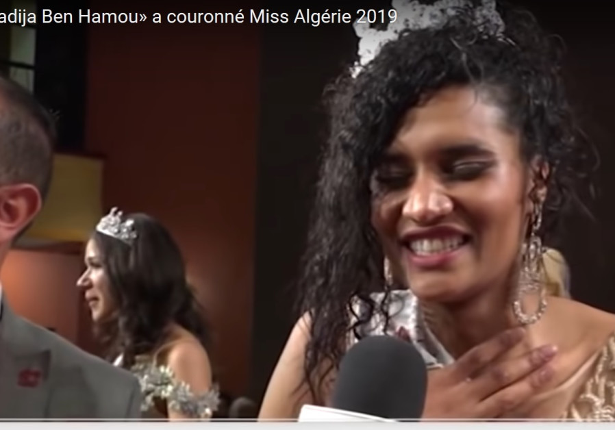 Black Algerian Beauty Queen Ben Hamou sparks racist outrage