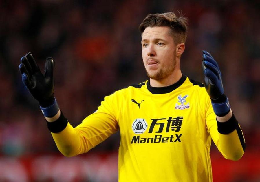 Crystal Palace's Wayne Hennessey.