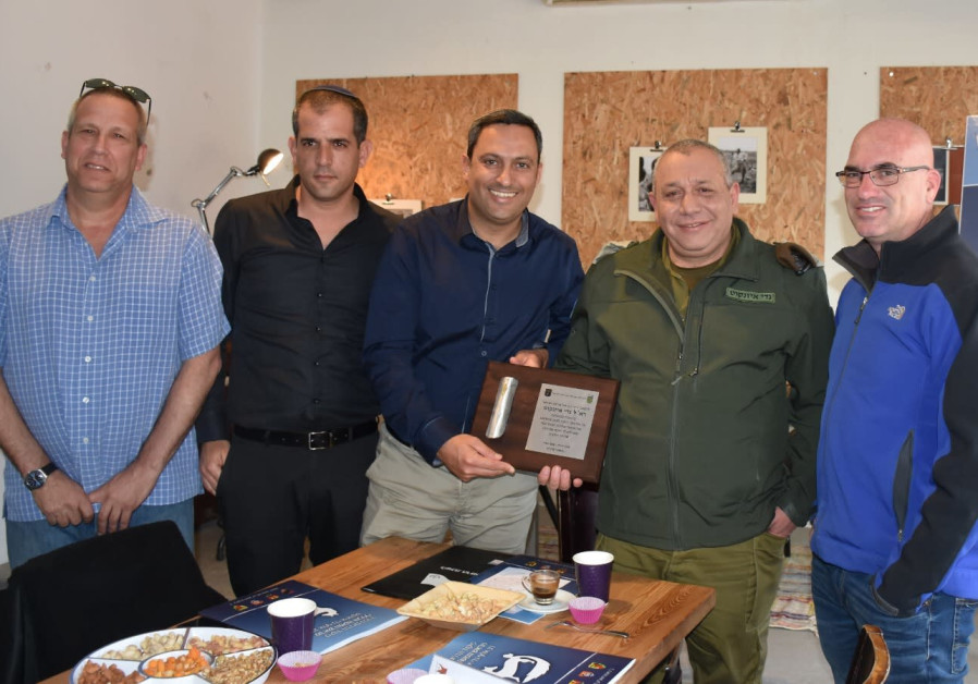 IDF Chief of Staff Lt.-Gen. Gadi Eisenkot And the heads of local councils in southern Israel
