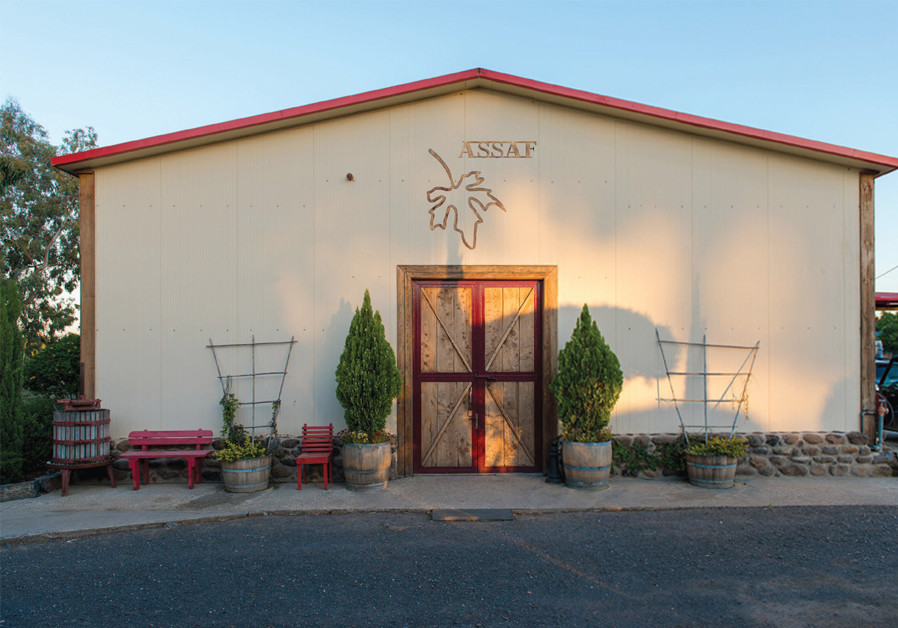 ASSAF WINERY is situated near Kidmat Zvi on the central  Golan Heights. (Courtesy)
