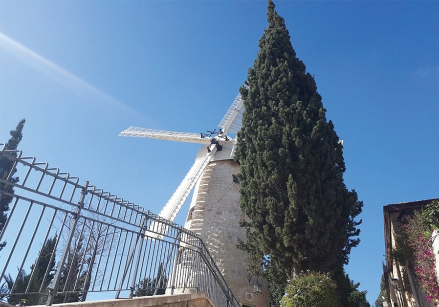 Rebirth of the Montefiore Windmill‏
