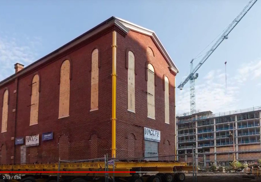Adas Israel synagogue 'takes a ride' through Washington