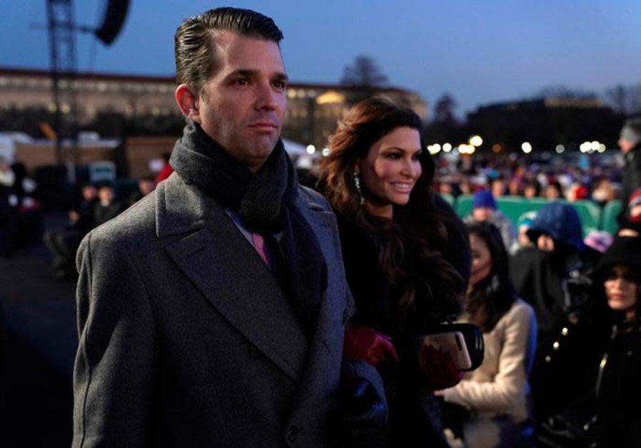 Donald Trump Jr. and his girlfriend Kimberly Guilfoyle