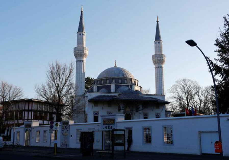 A general view shows the Sehitlik Mosque in Berlin, Germany, November 28, 2018